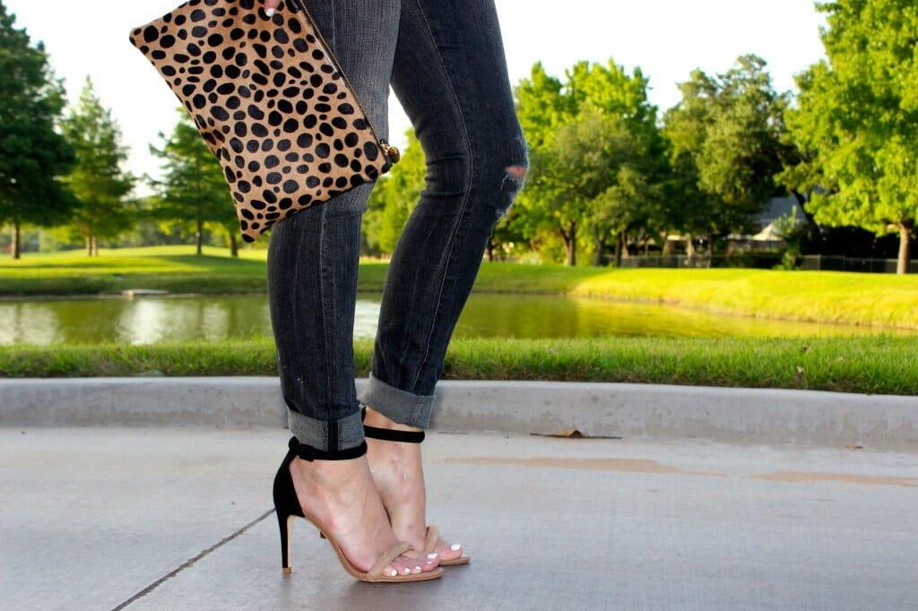 clare vivier leopard clutch 1