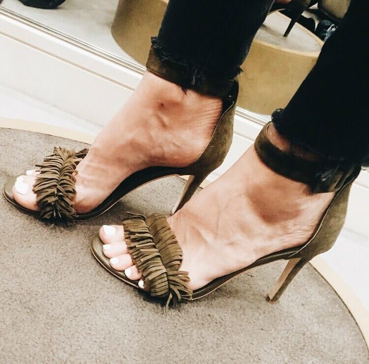 Joie Fringe Heels, Heather Anderson, Dallas Style Blogger