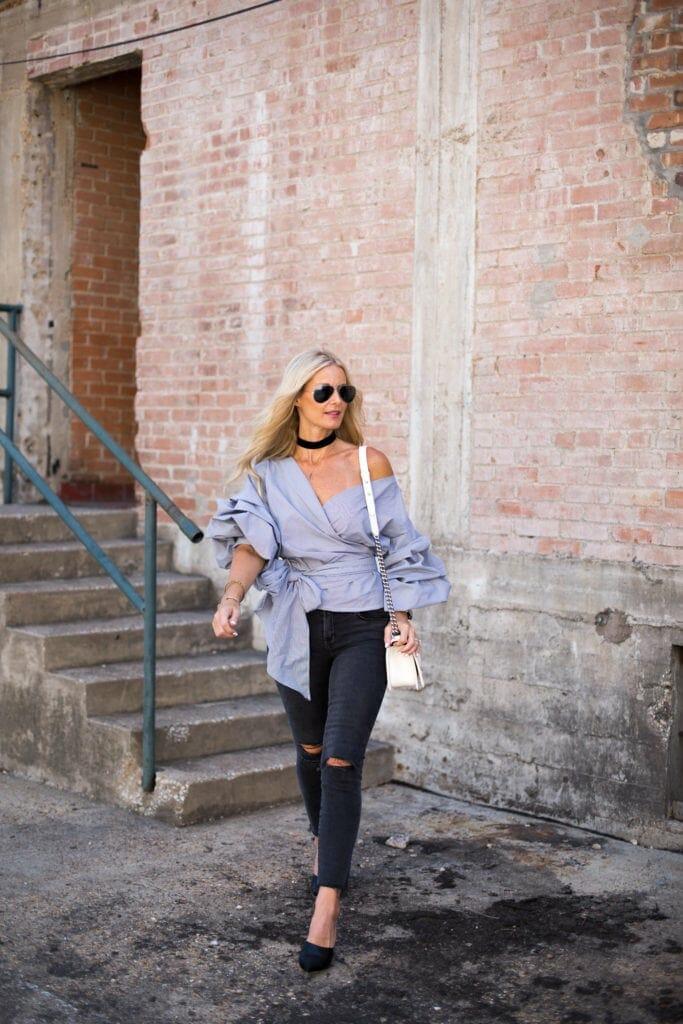 Storets Top, Heather Anderson, Dallas Fashion Blogger