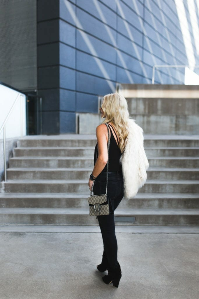 Heather Anderson, Dallas Fashion Blogger, Gucci Handbag