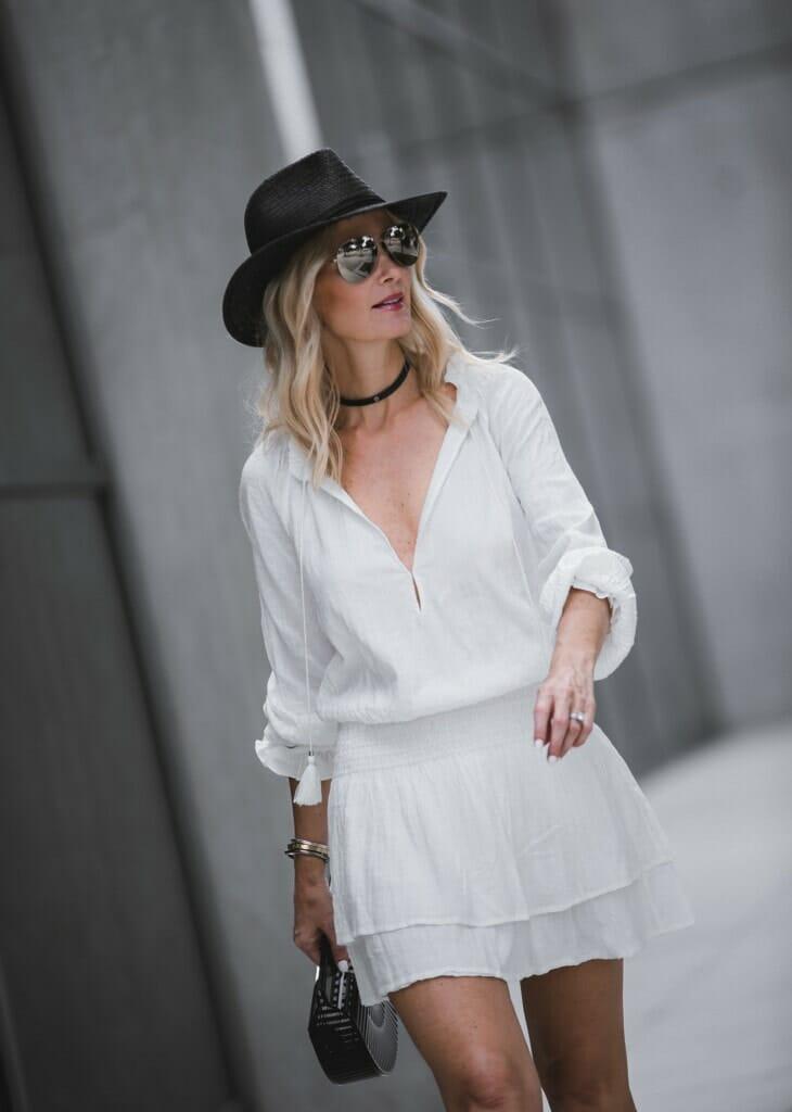 Paige White Dress