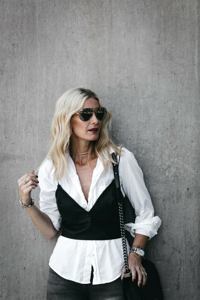 Frank and Eileen White Button Down