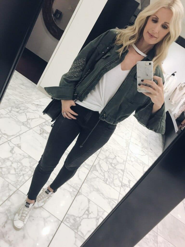 AG Black High Waisted jeans