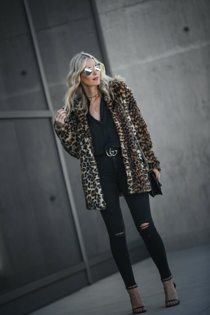 Vince Camuto Leopard Coat