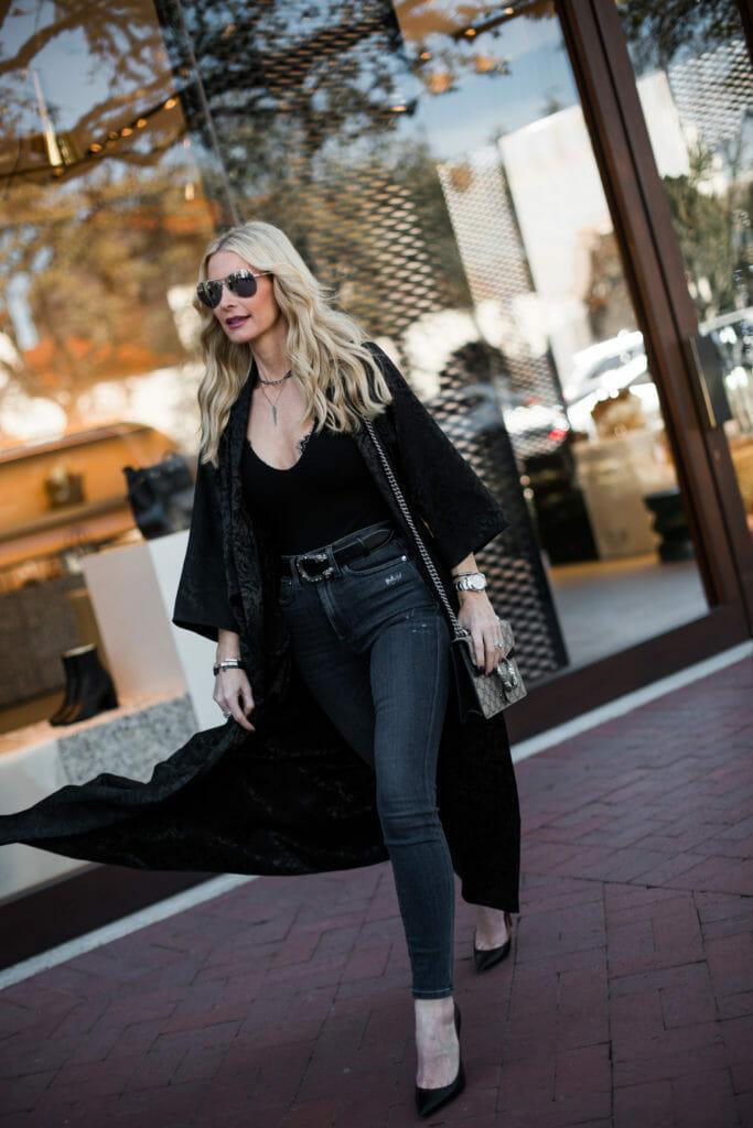 Black Kimono Outfit, Heather Anderson, So Heather