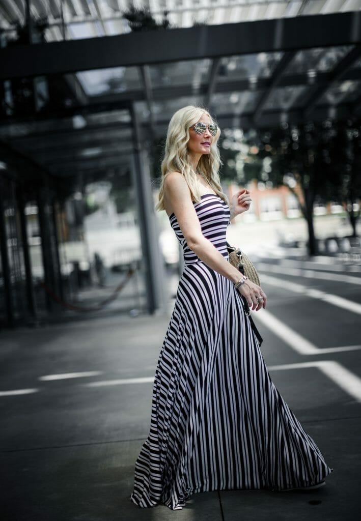 striped maxi dress in Dallas, TX