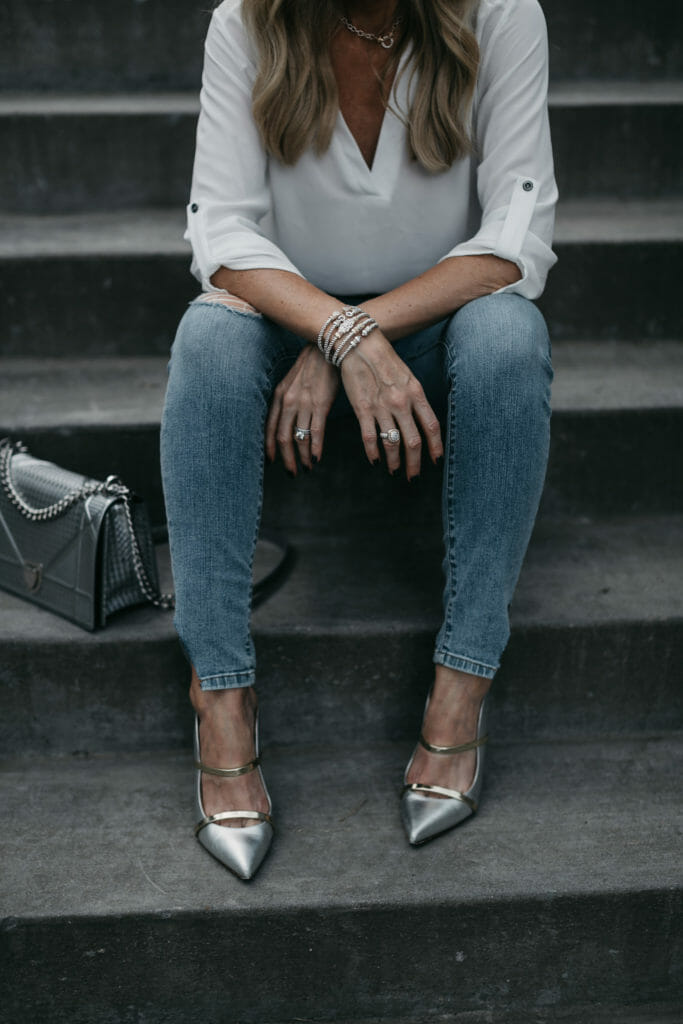 Malone Souliers and Vahan jewelry