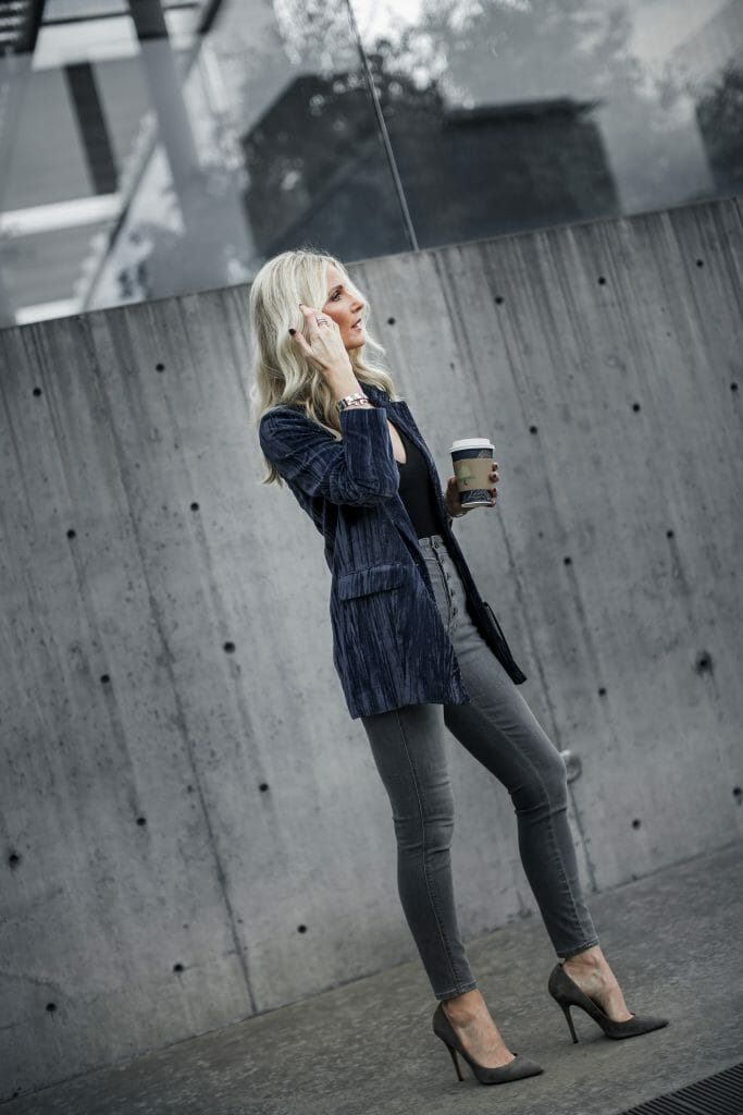 Dallas fashion blogger wearing J Brand jeans