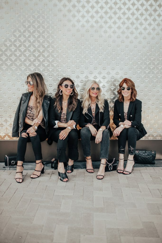 Dallas bloggers wearing Michele watches